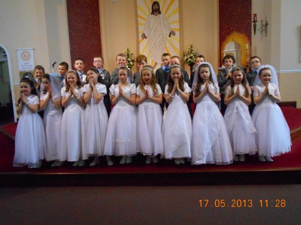 Tarbert-First-Communion-class-May-2014
